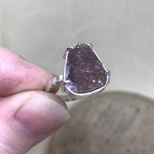 "blah2 ""Smokey Amethyst"" Druzy Quartz Ring"