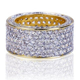 18K LAB DIAMOND ETERNITY RING