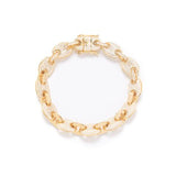 DIAMOND LINK BRACELET IN GOLD *NEW*