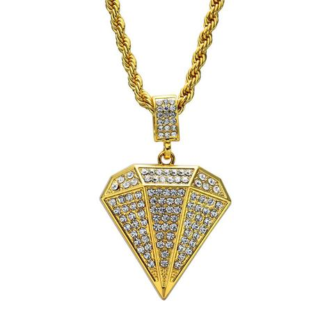 Micro Diamond Jewel Pendant