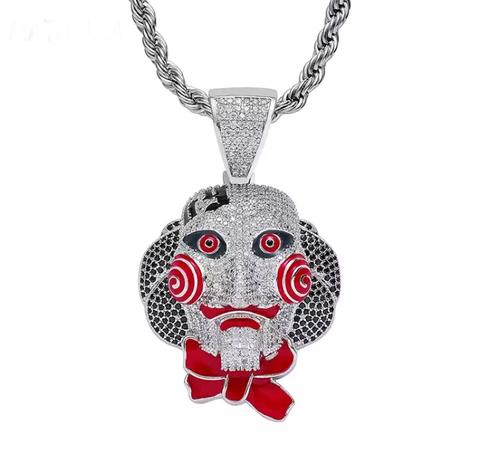 Jigsaw Necklace - 6ix 9ine *NEW*