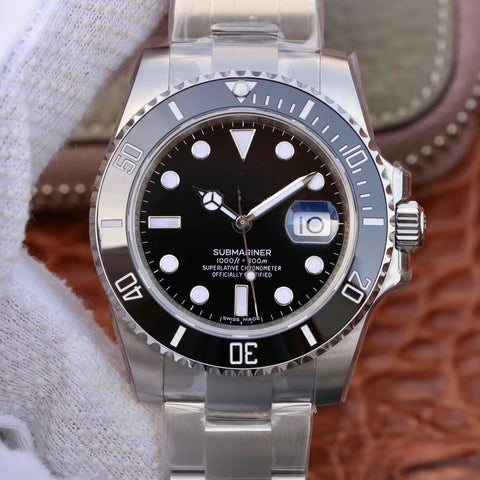 SILVER/BLACK SUBMARINER