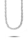 DIAMOND LINK CHAIN IN WHITE GOLD *NEW*