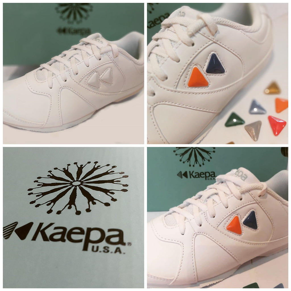 Kaepa Cheerful with snap-in logos