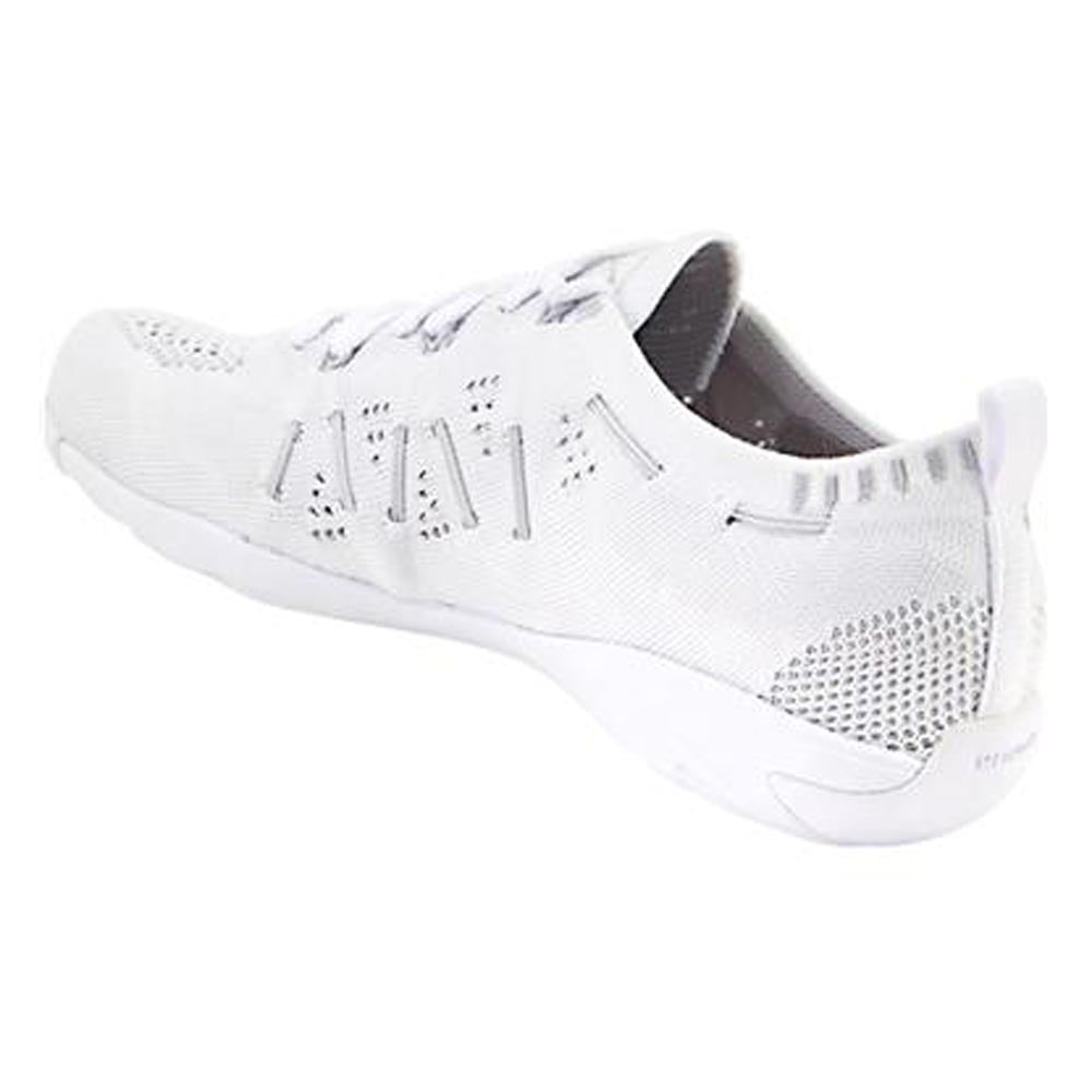 Nfinity Flyte cheer shoes arch side photograph.