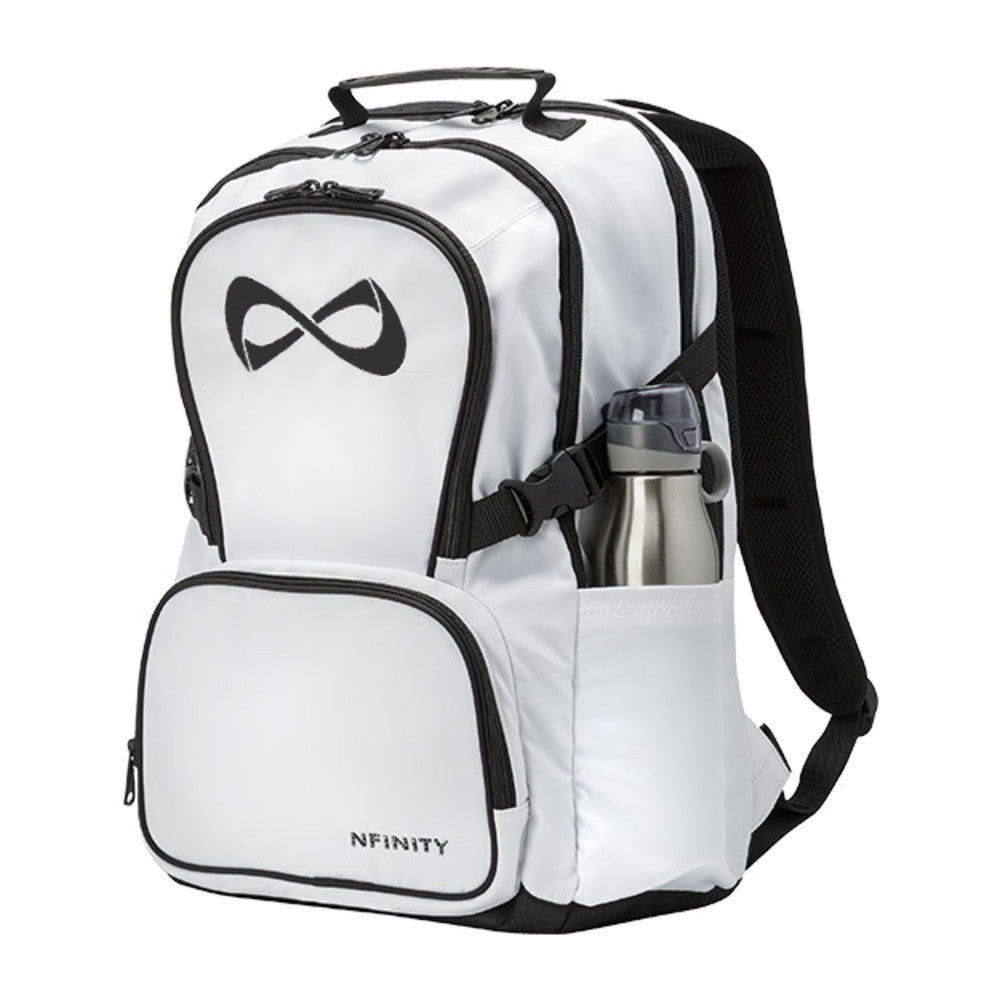 White nfinity classic backpack