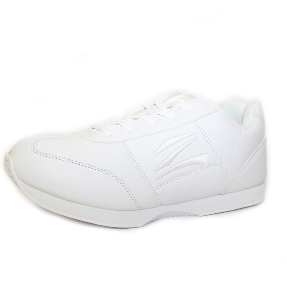 Zephz Tumble cheer shoes, supplied with six different coloured laces.
