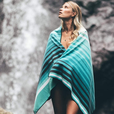 Baja - Evolve Travel Goods Adventure Towel - Sustainable, Made From Recycled Plastic and Sand Free