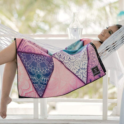Bali - Evolve Travel Goods Adventure Towel - Sustainable, Made From Recycled Plastic and Sand Free