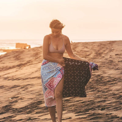 Goa - Evolve Travel Goods Adventure Towel - Sustainable, Made From Recycled Plastic and Sand Free