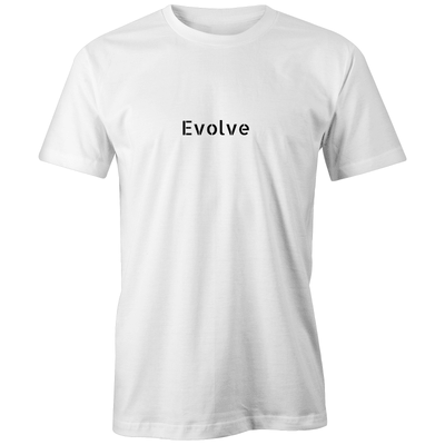 Evolve Statement Organic Tee - Evolve Travel Goods Adventure Towel - Sustainable, Made From Recycled Plastic and Sand Free