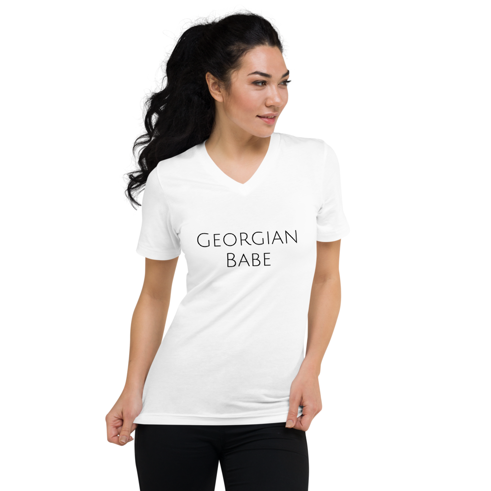 Georgian Babe V-neck