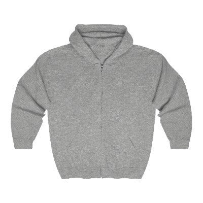 Comfy Zip Up Hooded Sweatshirt