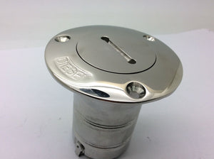 Tank Filler Flange Diesel Made In 316 L Stainless Steel