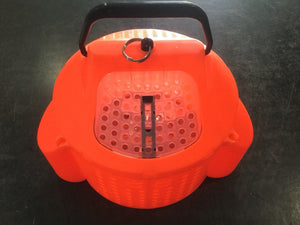 Live Bait Bucket Submersible and Weighted