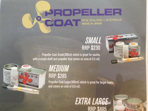 Antifoul prop coat Made In Japan Silicone Based 300 Ml 0.5 M Coverage