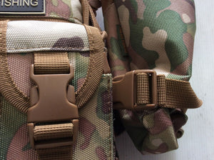 Cammo Fish Tackle accessory waist belt bag USA military style from japan