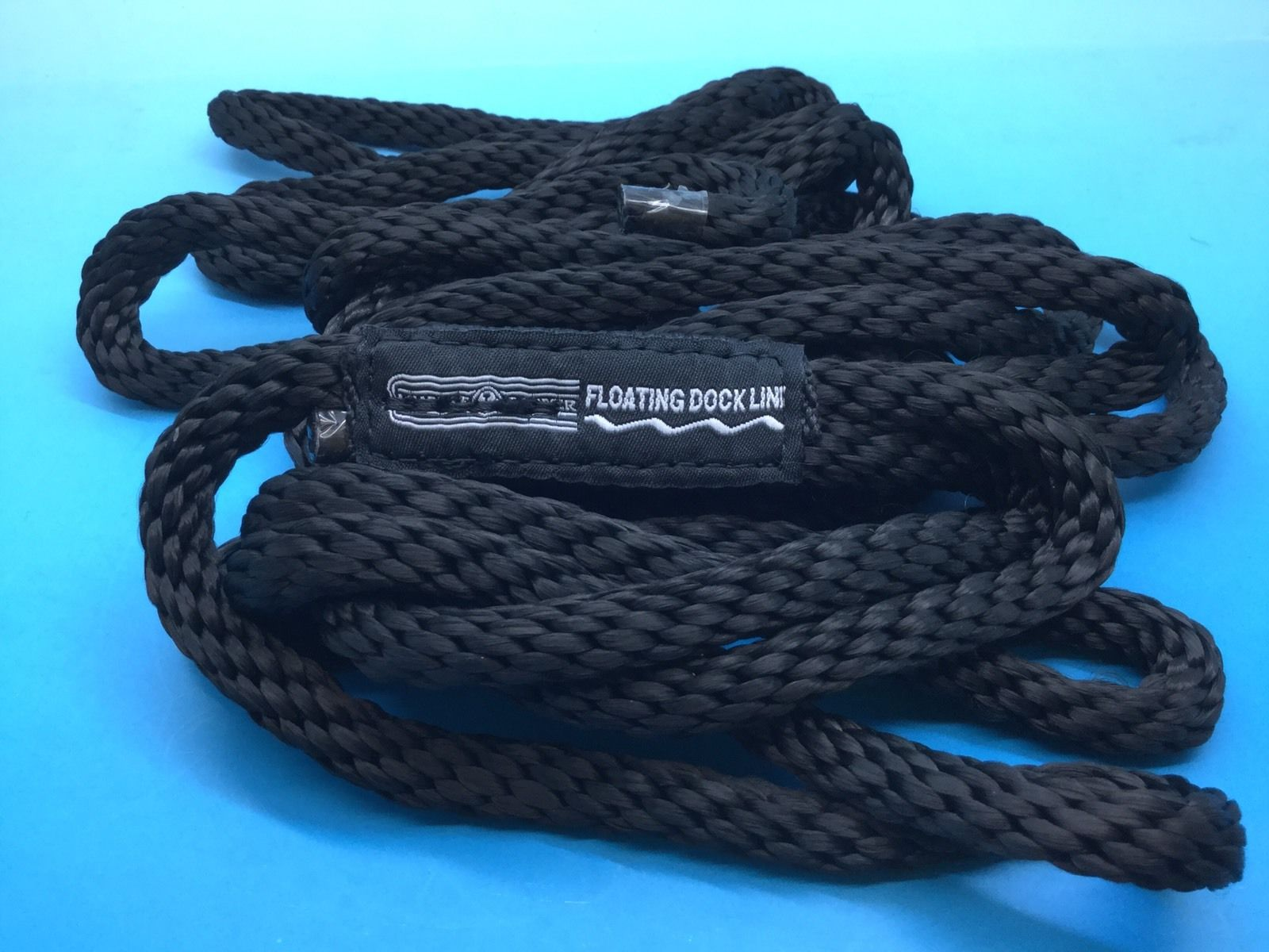 Mooring rope 15 ft long 3/8 diameter