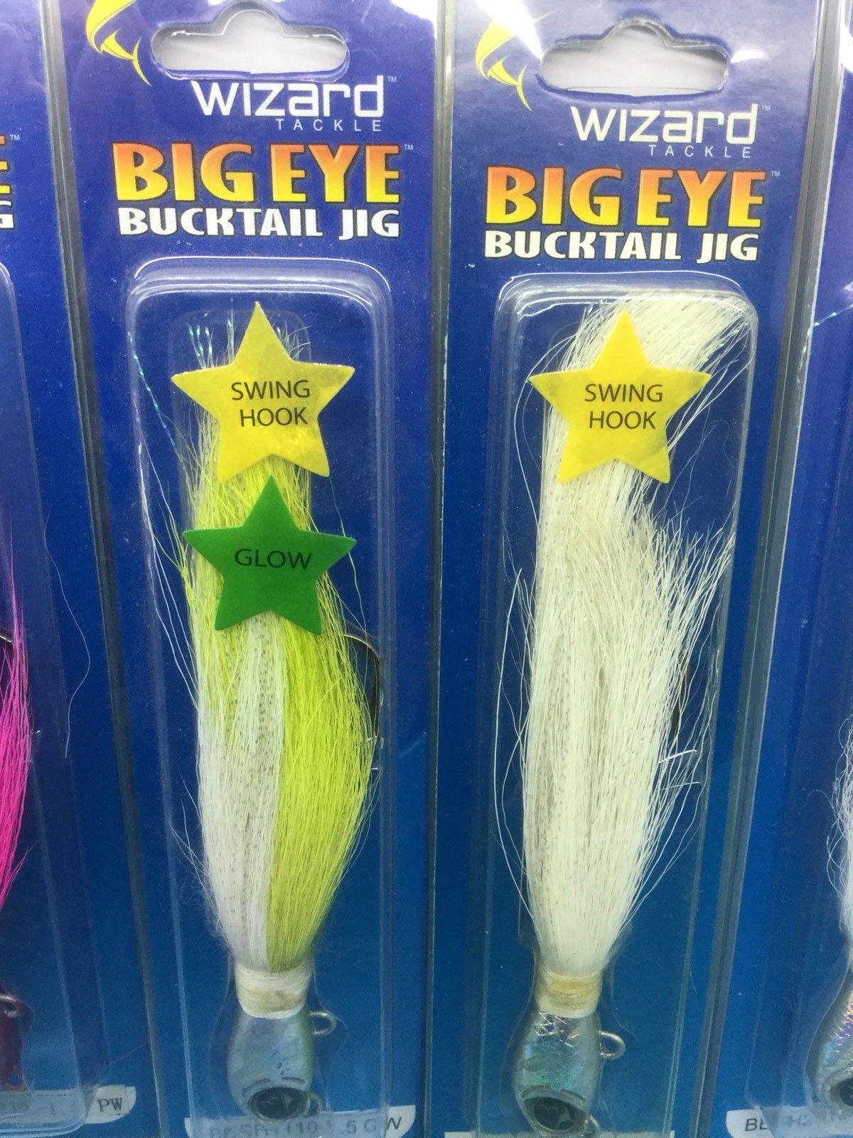 Bucktail Jigs 5 Pieces 1.5