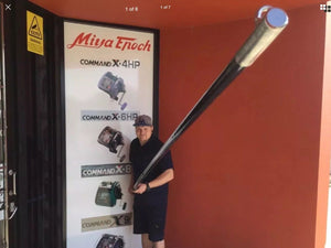 Carbon Graphite Outrigger Poles. 18 Ft 40mm.Ultra Lightweight and Stiff Poles.