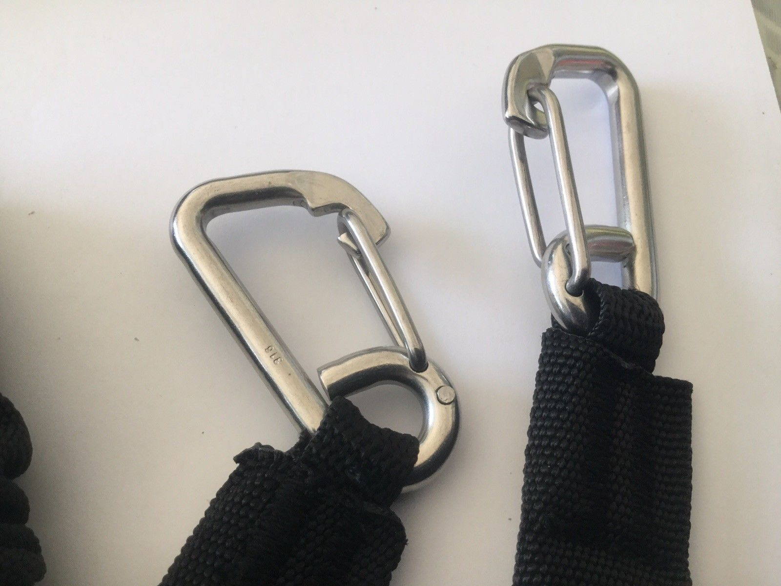 Saftey Secure Straps Expanding with Stainless Steel Hooks