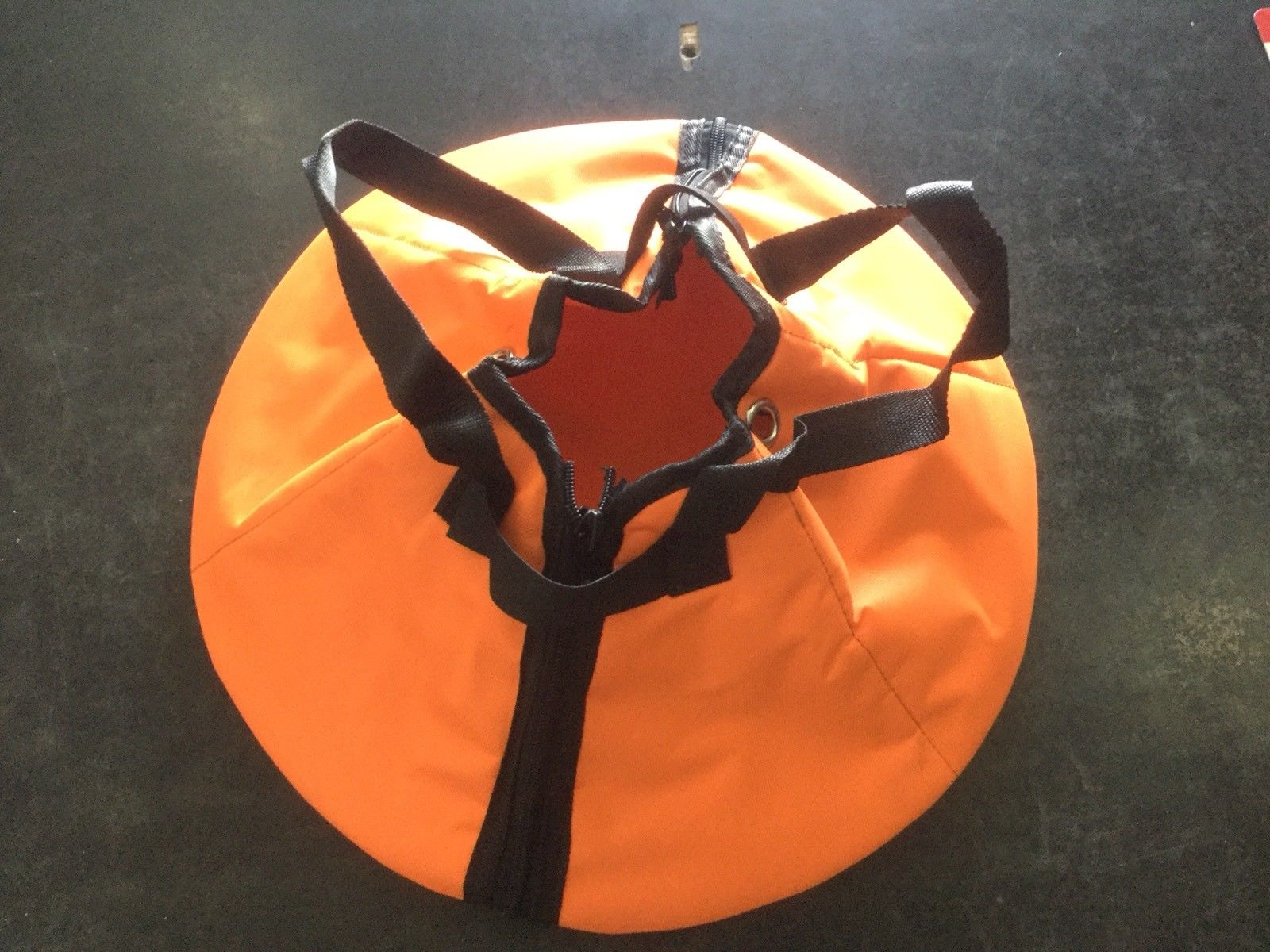 BF75-250 Hp propeller bag for safety whilst towing