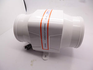 Air blower in-line 24v engine bayroom