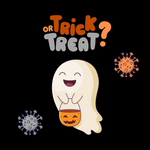 No trick or treating- Children's Halloween Care Package