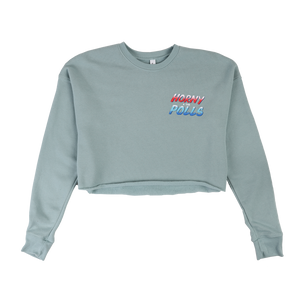H4tP Cropped Ladies Crewneck