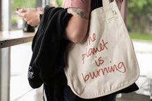 "Load image into Gallery viewer, ""Fuck! The Planet is Burning"" 