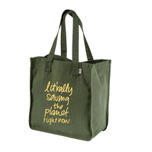 "Load image into Gallery viewer, ""Lit'rally Saving the Planet Right Now"" 