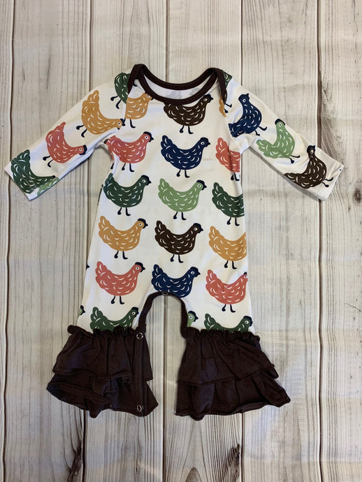 Chicken Little Romper