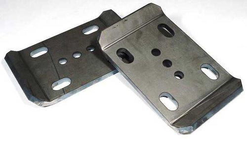 Jeep U Bolt Plates For 2 1/2 Inch Wide Springs