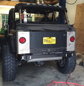 TJ LJ Rear Tail Plate Bumper