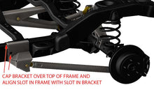 Load image into Gallery viewer, Jeep JK 3 Link Rear Frame Lower Control Arm Mounts