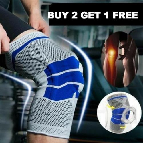 Nylon Silicon Knee Protection Buy 2 Get 1 Free