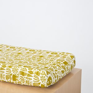Citron Fable Mattress Cover