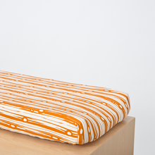 Load image into Gallery viewer, Orange Crib Cover