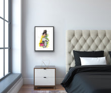 Ready for week - bedroom wall artwork by Talia Zoref