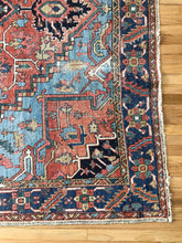 Load image into Gallery viewer, Paco, Vintage Persian Heriz, room sized