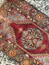 Load image into Gallery viewer, Maeve, Vintage red rug