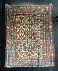 Naz, Antique Kurdish Bidjar from early 20th century