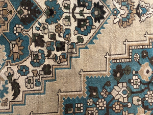 Lakely, vintage turkish square rug