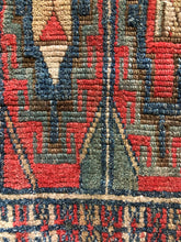 Load image into Gallery viewer, Ezra, vintage Turkish yastik rug