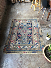 Load image into Gallery viewer, Armanj, late 19th Century Kazak Lesghi Star rug