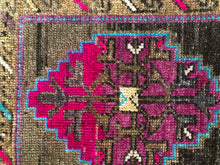 Load image into Gallery viewer, Avery, vintage Turkish yastik rug