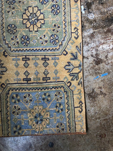 Yavuz, vintage Turkish rug fragment