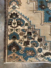 Load image into Gallery viewer, Lakely, vintage turkish square rug