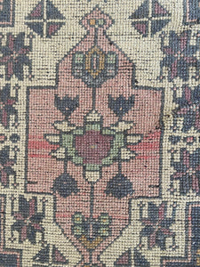 Galina, vintage Turkish Oushak 4'8 x 9'5