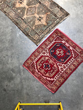 Load image into Gallery viewer, Lemuel, vintage Persian rug with madder red, 2'7 x 3'4